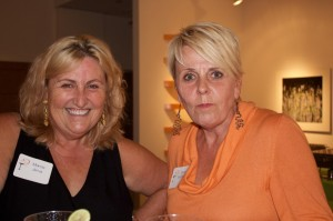 Marcia Jervis {co-owner of The Mad Platter} and Joyce McDaniel
